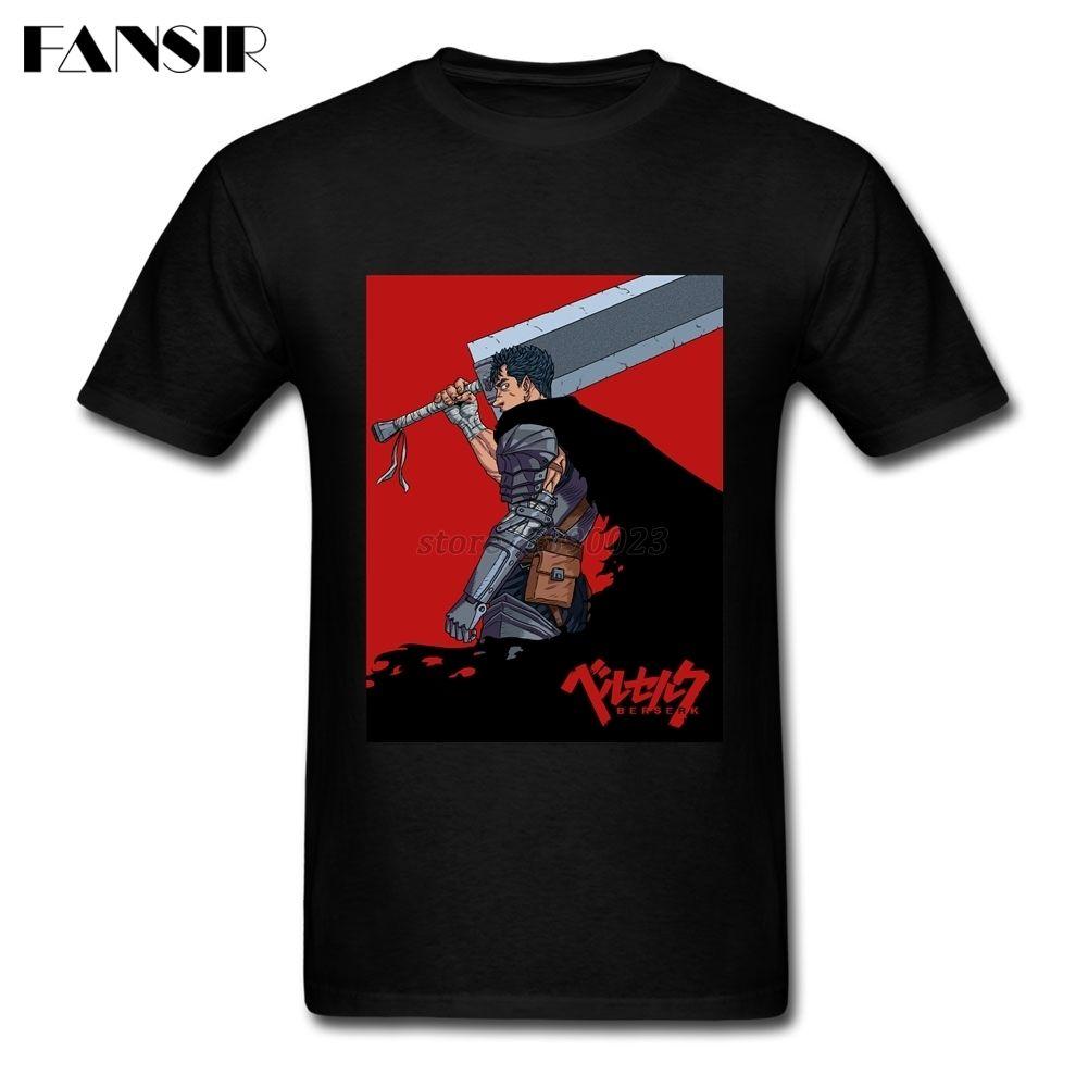 XS-3XL Japanischen Anime Berserker 2017 Neueste Shirts Männer Männlich Benutzerdefinierte Baumwolle Kurzarm Männer T-shirt Team Kleidung