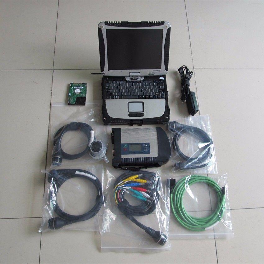 Mb-stern c4 sd mit 2018,03 software mit cf19 laptop toughbook bandmittenstern c4 sd c4 werkzeug diagnose bereit, verwenden