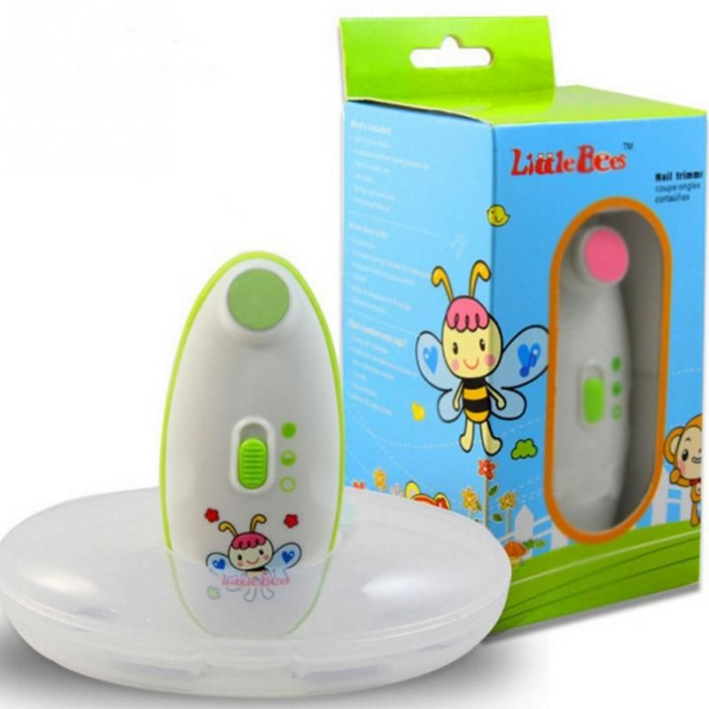 Baby nail clippers Baby Electric Nails Trimmer for Safe and <font><b>Effective</b></font> Baby electric manicure device Little Bees
