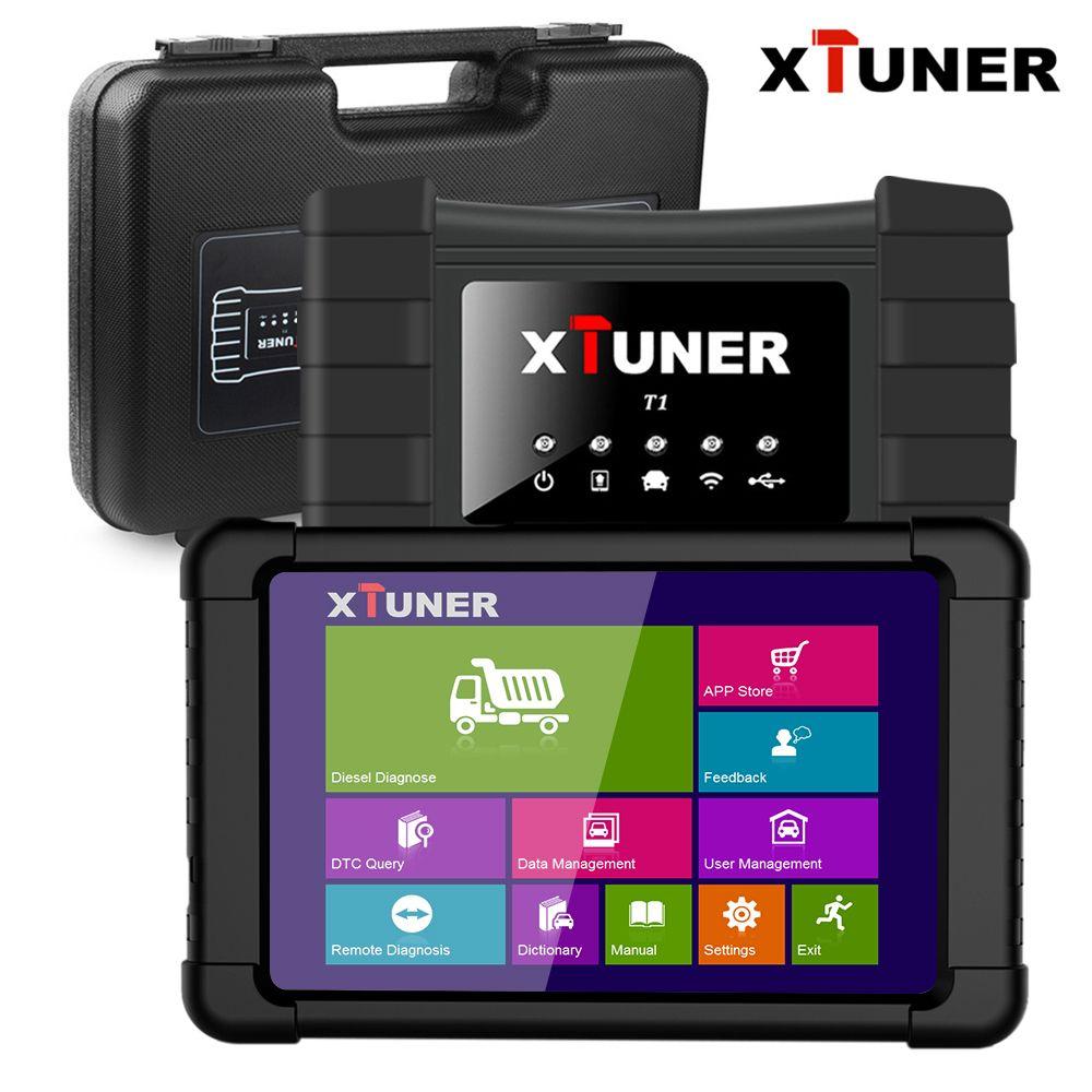 Xtuner T1 Heavy Duty Truck Scanner Auto Diagnose Werkzeug ABS Airbag DPF OBD2 Scanner für Daf Mann Lkw Diesel OBD scanner für Autos