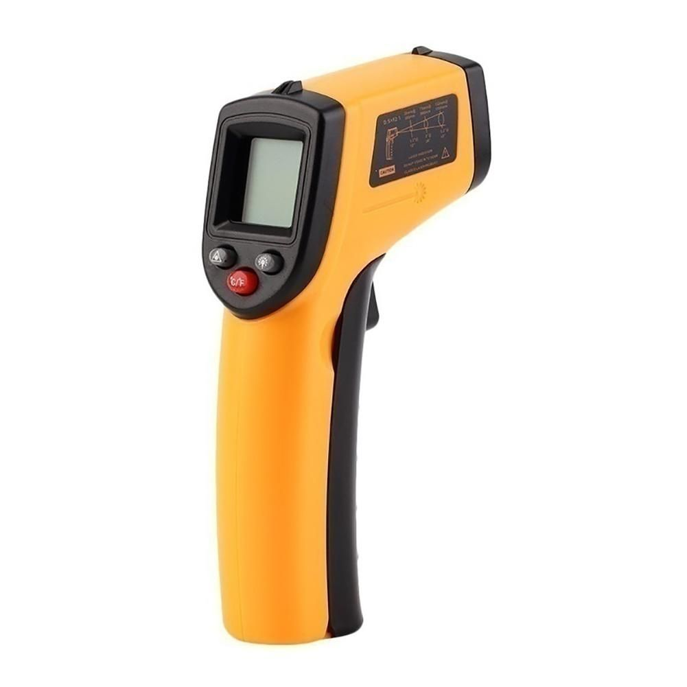 GM320 Non-Contact Digital LCD Infrared Thermometer Gun IR Laser Point Thermal Infrared Imaging Temperature Handheld Pyrometer