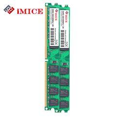 Imice Настольный ПК ОЗУ DDR2 2 ГБ 667 мГц pc2-5300s 1 г 800 мГц PC2-6400S DIMM 240-Булавки 1.8 В Stick памяти компьютера пожизненная Гарантия