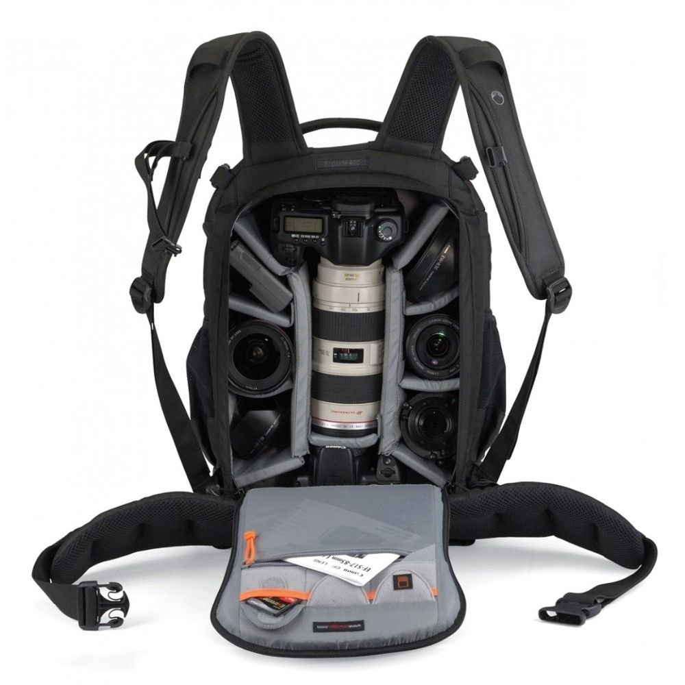 fast shipping Gopro Genuine Lowepro Flipside 400 AW Camera Photo Bag Backpacks Digital SLR+ ALL Weather Cover wholesale
