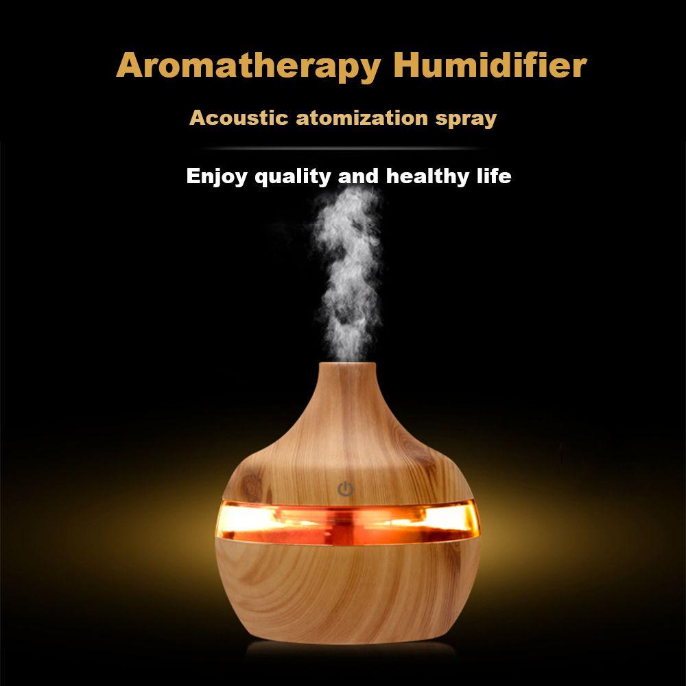 USB Aroma Ätherisches Öl Diffusor Ultraschall Kühlen Nebel Luftbefeuchter Luftreiniger 6 LED Farbe Ändern Nacht licht für Office Home