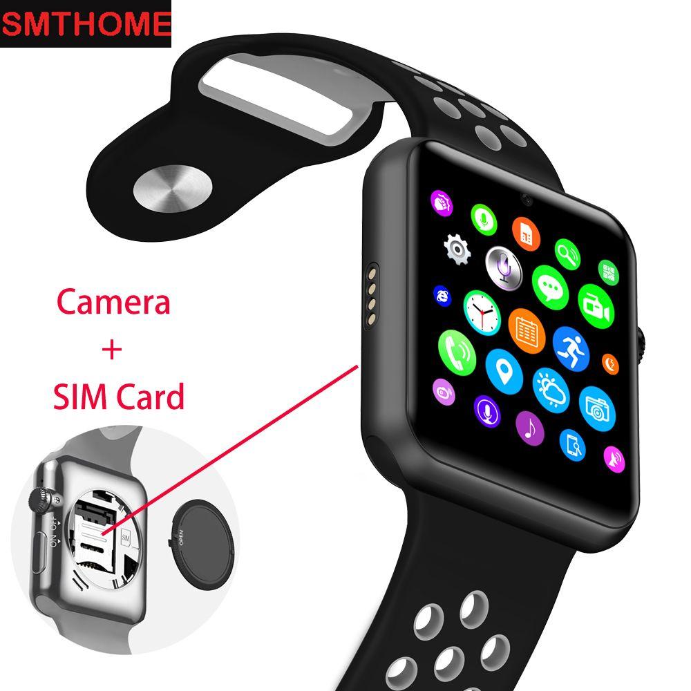 Nouveau Bluetooth Montre DM09 Plus GSM Montre Téléphone SIM Smart Montre Podomètre Sommeil Tracker Sport Montre-Bracelet pour Iphone Android Téléphone