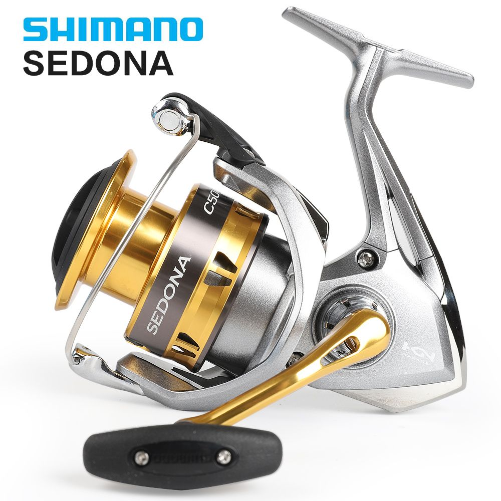Shimano Original SEDONA 1000 2000HGS 2500HG 2500 S 3000 4000 C5000XG 6000 moulinet de pêche en rotation tasse profonde 4BB Hagane Gear