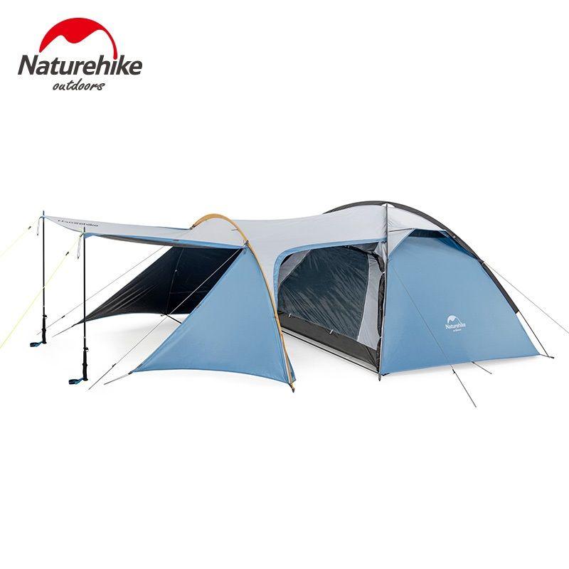 Naturehike Stille Flügel serie drei saison aluminium pole zelt outdoor einzigen camping bergsteigen zelte wind regendicht