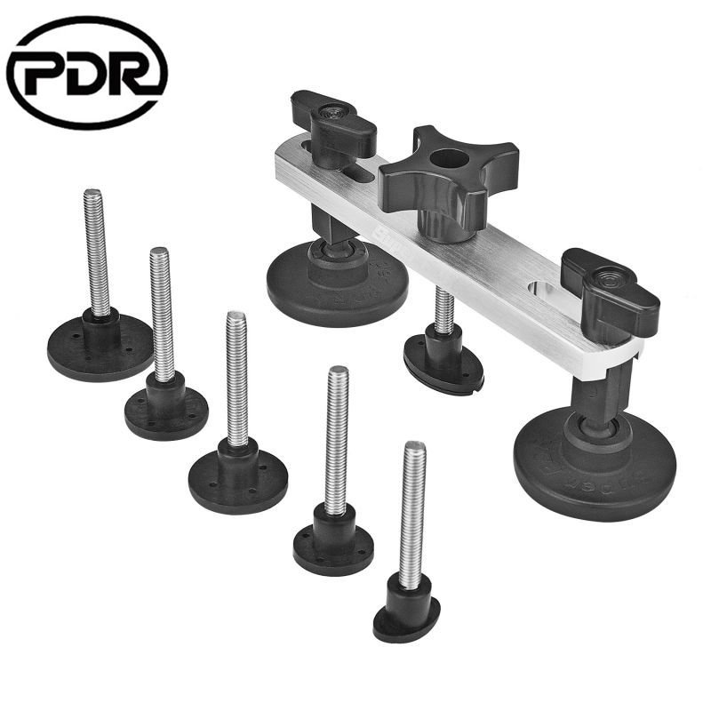 PDR Paintless Dent Repair Tools Newly Design Pulling Bridge Dent Removal Hand Tool Set PDR Toolkit <font><b>Instruments</b></font> Ferramentas +GIFT
