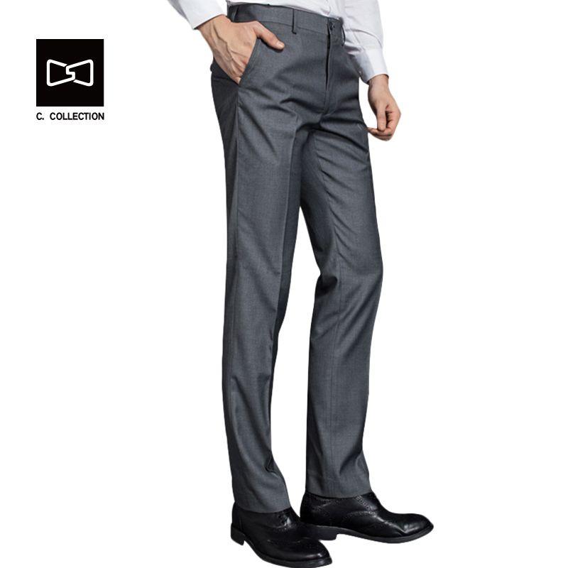 Hombres Pantalones de Traje Pantalones Casuales Slim fit Pantalones De Vestir para Hombres Traje de Pantalones Formales Pantalones de Traje de Negocios Pantalones