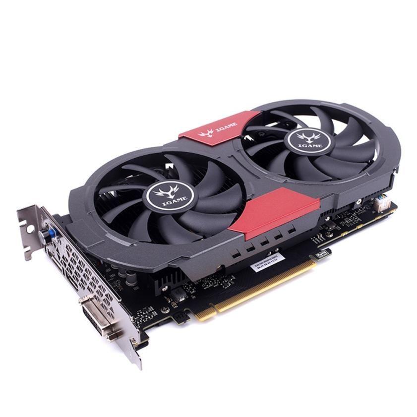 IGame 1050Ti красочные GTX 1050 ti GPU 4 ГБ GDDR5 128bit игровой видеокарты видеокарта pci-e X16 3.0 для desktop
