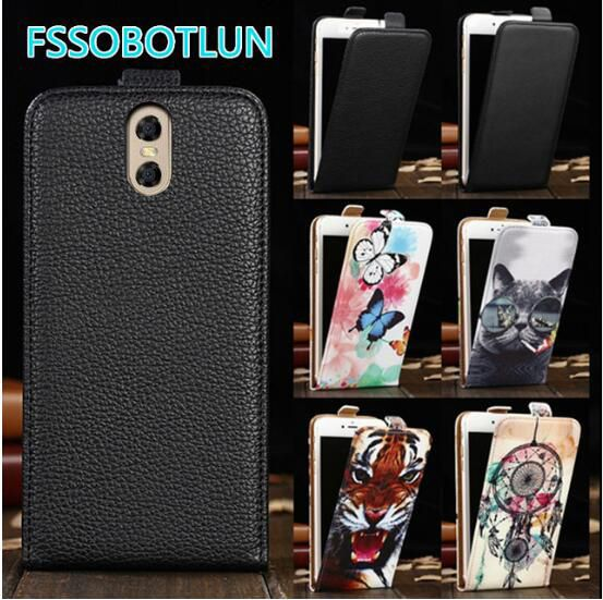 Factory direct! For Oukitel K3 Case 2017 Luxury Cartoon Painting vertical phone bag flip up and down PU Leather Cover