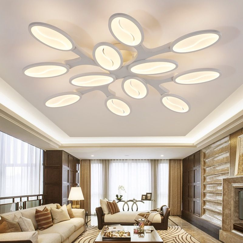 Eusolis Ceiling Lights Lamparas De Techo Verlichting Plafon Led Light Living Room Luzes Modern Salon Lambalari