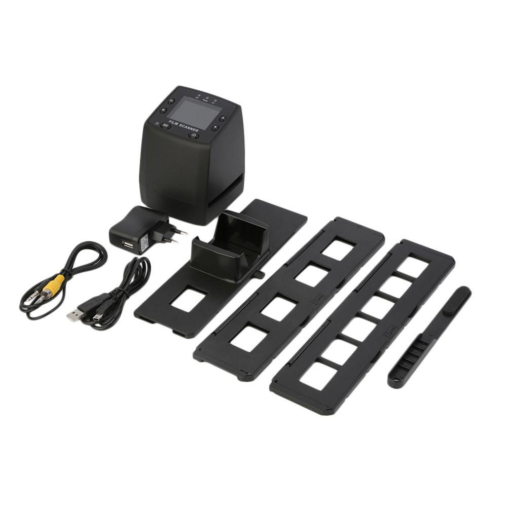 Neue 5MP 35mm Negative Film Rutsche Viewer Scanner USB Digital Color Copier Photo Mit (Nur Eu-stecker) großhandel Drop Shipping