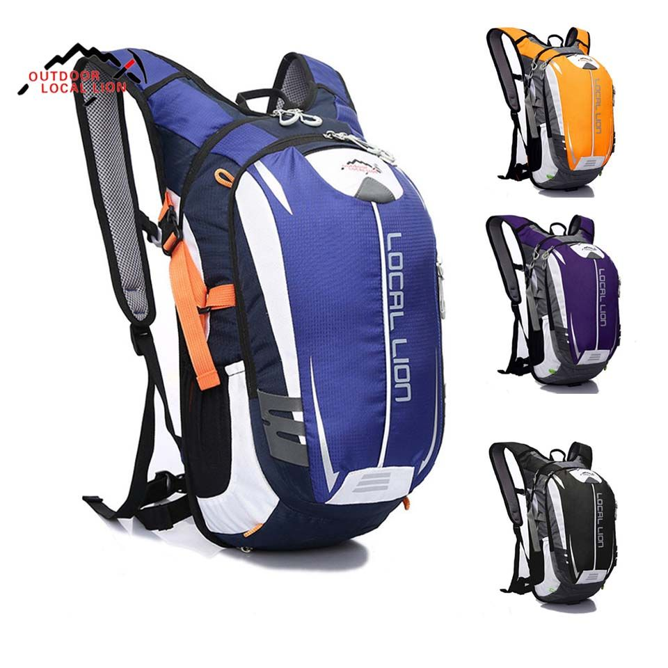Ourdoor Sport Bag LOCAL LION 18L Waterproof Bicycle Backpack Cycling Bike Rucksacks Packsack Riding Running Backpack Ride pack