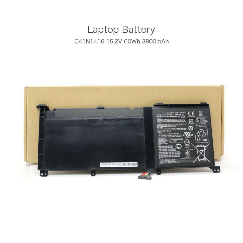 15,2 V 60Wh 3800 mAh C41N1416 Original Tablet Batterie für Asus ZenBook Pro UX501L ZenBook Pro UX501J ZenBook Pro UX501JW Laptop