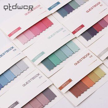 Office Stationery Sticky Notes Korea Brief Style 190 Pages Sticker  Bookmark Point It Marker Memo Sticker Papers