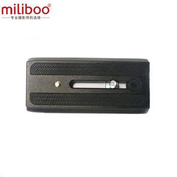 Miliboo Caméra Court Quick Release Plaque MYT805 pour Professionnel Trépied/Monopode Tête Stand 108 cm * 50 cm