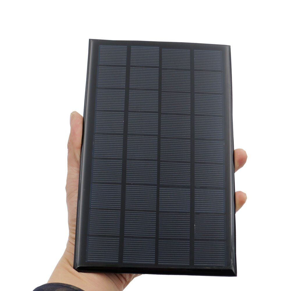 9V 3W 330mA Solar Panel Portable Mini Sunpower DIY Module Panel System For Solar Lamp Battery Toys Phone Charger Solar Cells