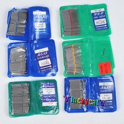 50 unids diamante dental FG de alta velocidad burs para pulir suavizado SF serie dental burs 1.6mm