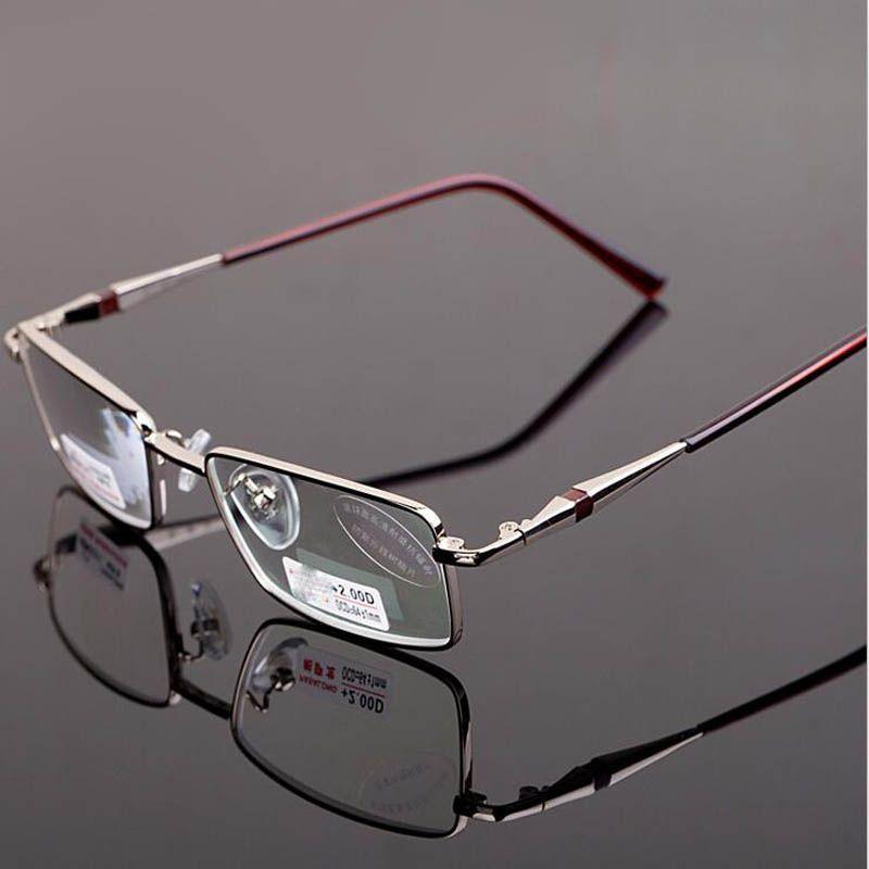 Monture métallique lunettes De lecture femmes hommes Anti-rayonnement asphérique presbyte lunettes De vue Gafas De Lectura