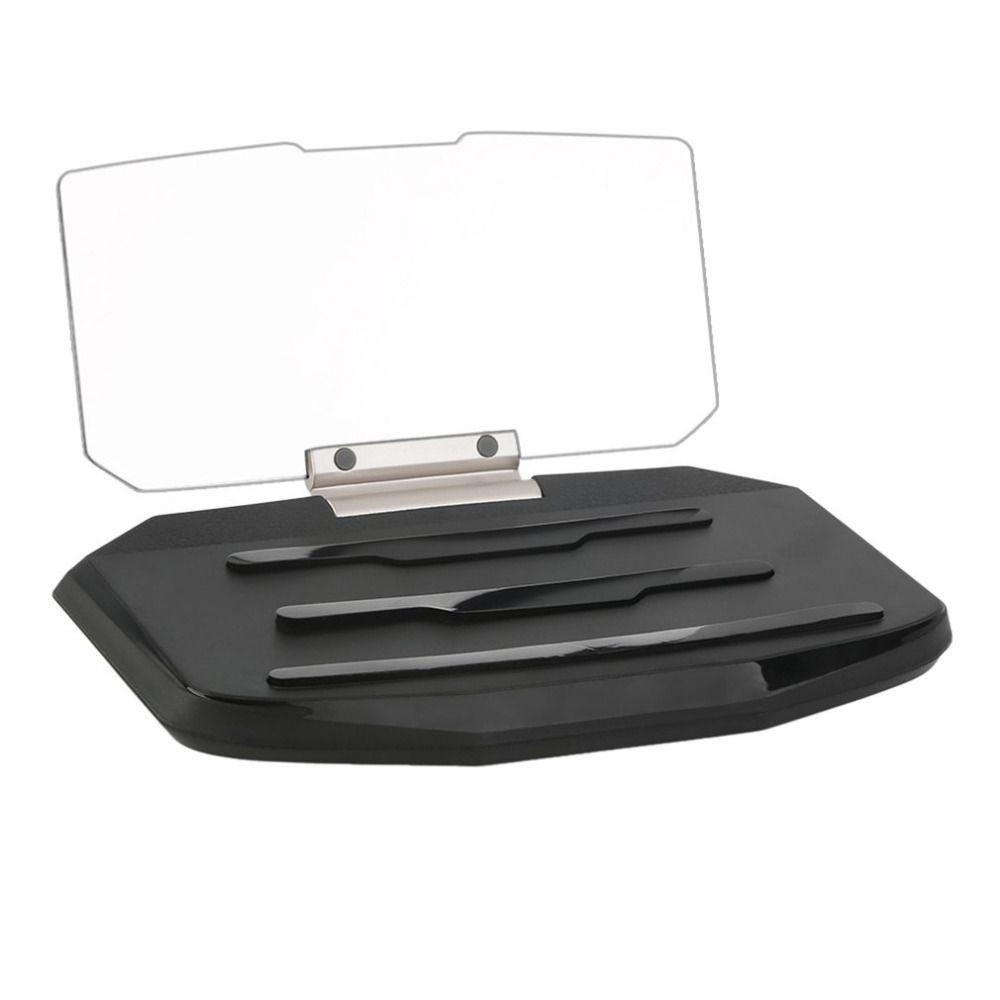 Car HUD Head Up Display Speed Warning GPS Navigation HUD Bracket Head Up Display For Smart Phone Car Stand Folding Holde