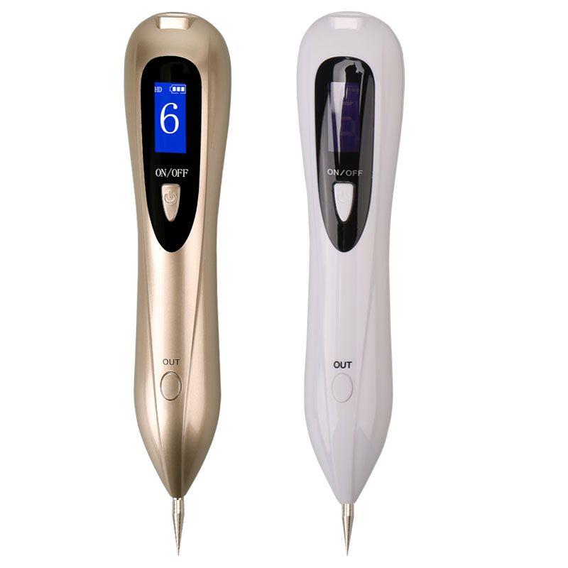 Date Laser Plasma Stylo Déplacement de Taupe Foncé Spot Remover LCD Peau soins Point Stylo Peau Verrue Tag De Tatouage Removal Tool Soins de Beauté