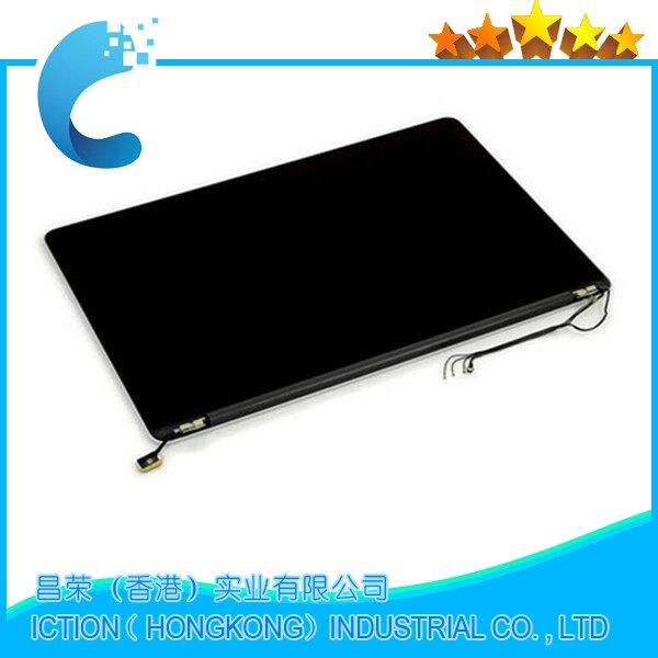 Original 15.4'' A1398 LCD New for APPLE Macbook Pro A1398 LCD LED Screen Assembly MC975 MC976 Mid 2012 Early 2013