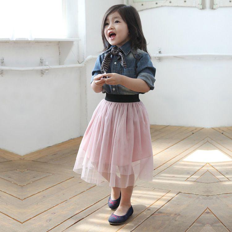 2018 été filles tutu jupe enfants bonbons tulle jupes enfants belle moelleux pettijupes princesse fête jupe pour l'âge 3-10 4 couleur