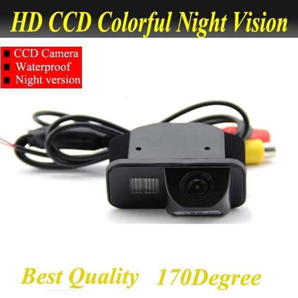 For Toyota Avensis T25 T27 car reversing rear view camera <font><b>backup</b></font> auto reverse camera system with parking line water proof
