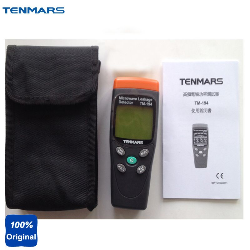 Microwave Oven Leakage Detector Measuring Electromagnetic Fields Tester 2.45GHZ Microwave Frequency or Normal 50MHZ~3.5GHZ TM194