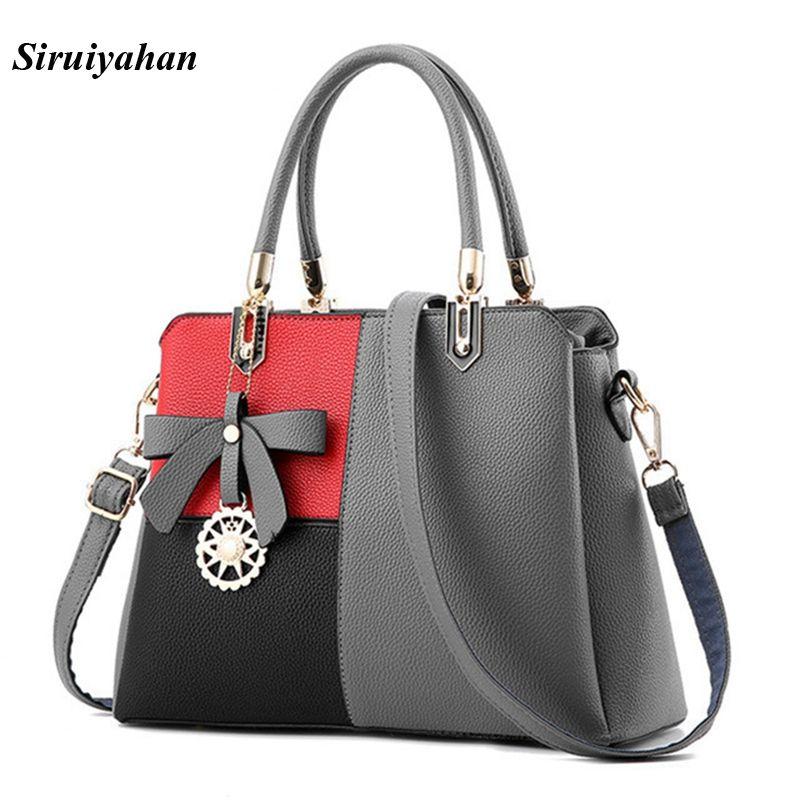 Siruiyahan Luxury Handbags Women Bags Designer Handbags High Quality Bags Handbags Women Famous Brands Shoulder Bag Female Bolsa