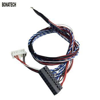 40pin LVDS cable screen cable  LVDS (1 ch, 6-bit)  /LVDS (2 ch, 6-bit)  25cm 40