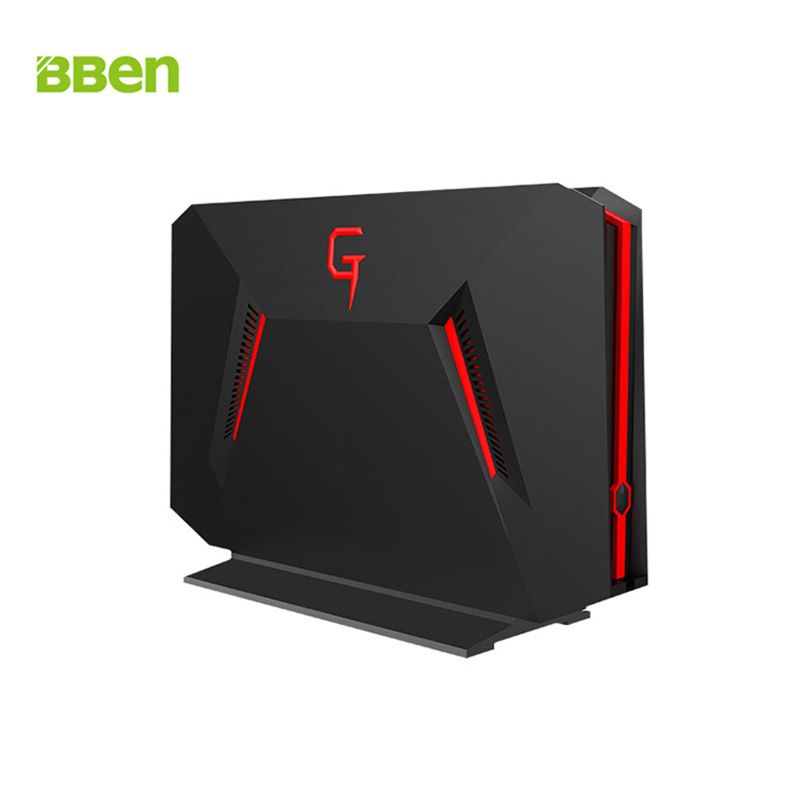 BBEN GB01 Mini PC NVIDIA GTX1060 GDDR5 6G Intel i7 7700HQ Windows 10 32G RAM 512G SSD 2T HDD WiFi LAN Port Gaming Computer