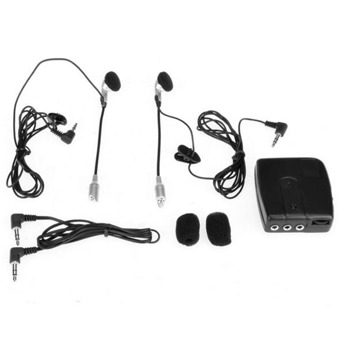 Dewtreetali 2 way Moto Interphone Moto Casque Casque Communication Système Interphone moteur Casque Écouteur