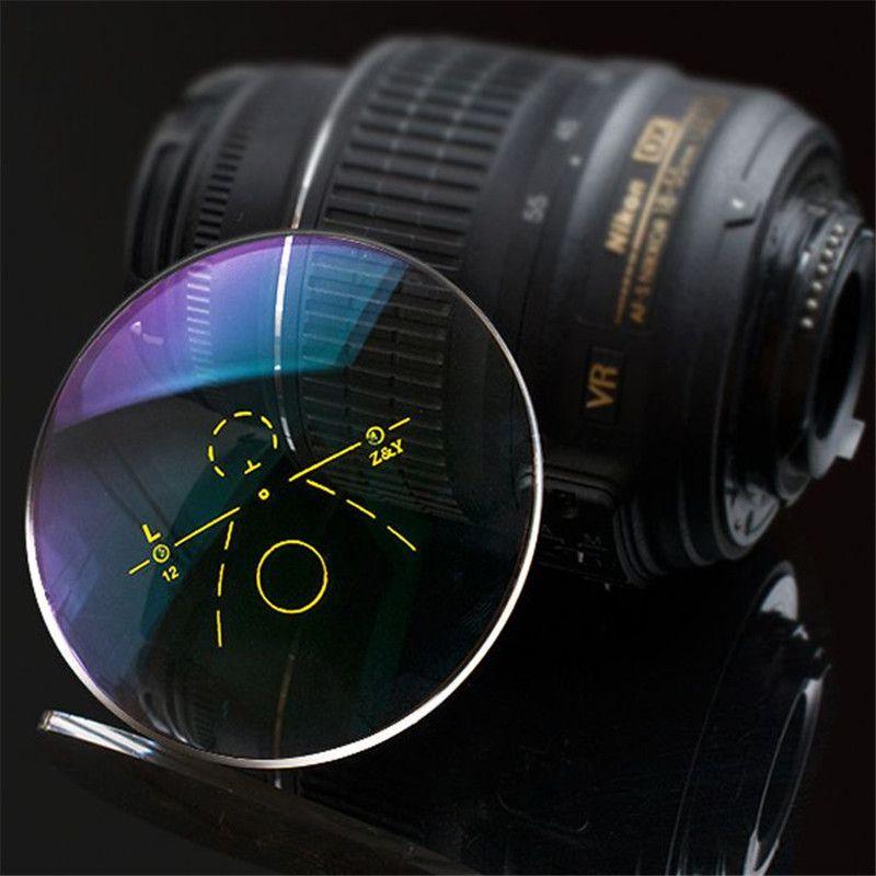 1,56 äußere Progressive multifokale linsen Kurzsichtigkeit Weitsichtigkeit Reflex verfärbung Rezept objektiv Anti UV