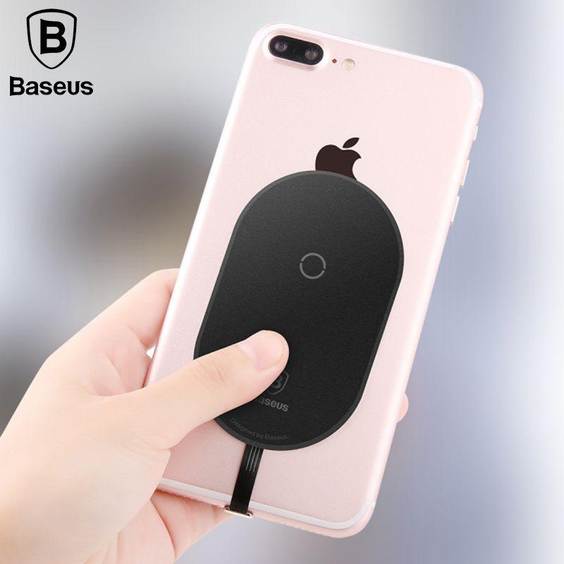 Baseus QI Sans Fil Chargeur Récepteur Pour iPhone X 8 7 6 5 Samsung Note 8 S8 S7 S6 Bord Sans Fil De Charge Récepteur Pour Xiaomi MiA1