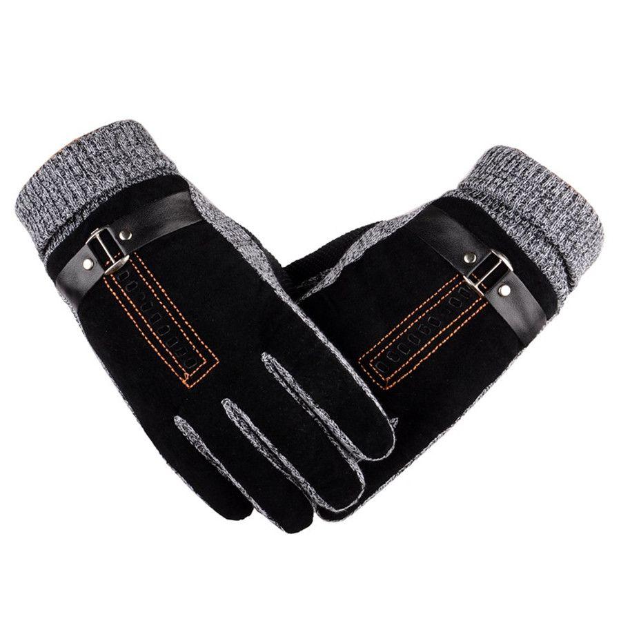 ROSICIL 2017 Winter Frühling handschuhe Mode tuch Handschuhe Große strecke baumwolle Männer handgelenk plüsch Handschuhe comfortble Männer