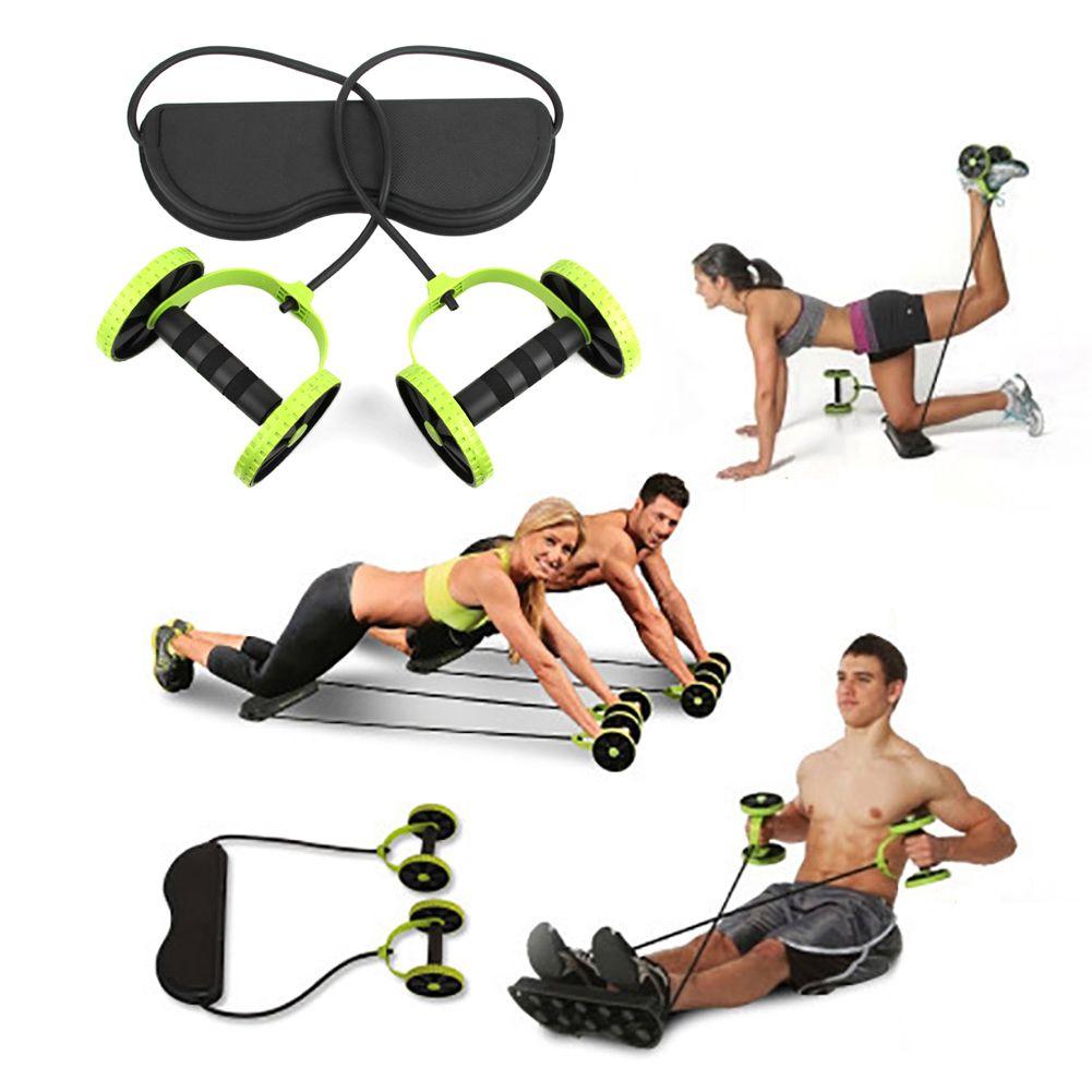 Ab rouleau roue formateur avec tapis abdominale roue Fitness bras taille jambe Muscle exercice équipement à domicile formation nouvelle livraison directe