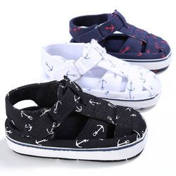 Niño niño infantil de verano suave Patucos 0-6 6-12 12-18 meses infantil niños Niñas casual primer caminante