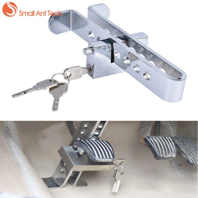 SmallAntTeach Universal Car Burglar Alarm Auto Brake Clutch Pedal Lock High Quality Stainless Steel For Car Alarm System