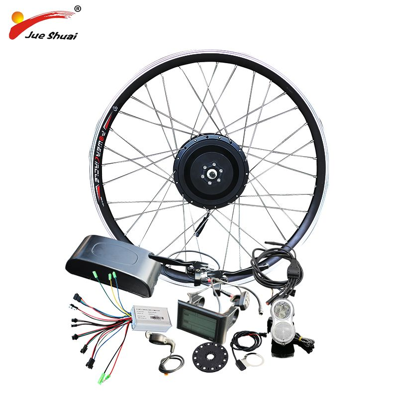 Jueshuai 48 v 500 watt Hub Motor E Fahrrad Ebike Conversion Kit für 26