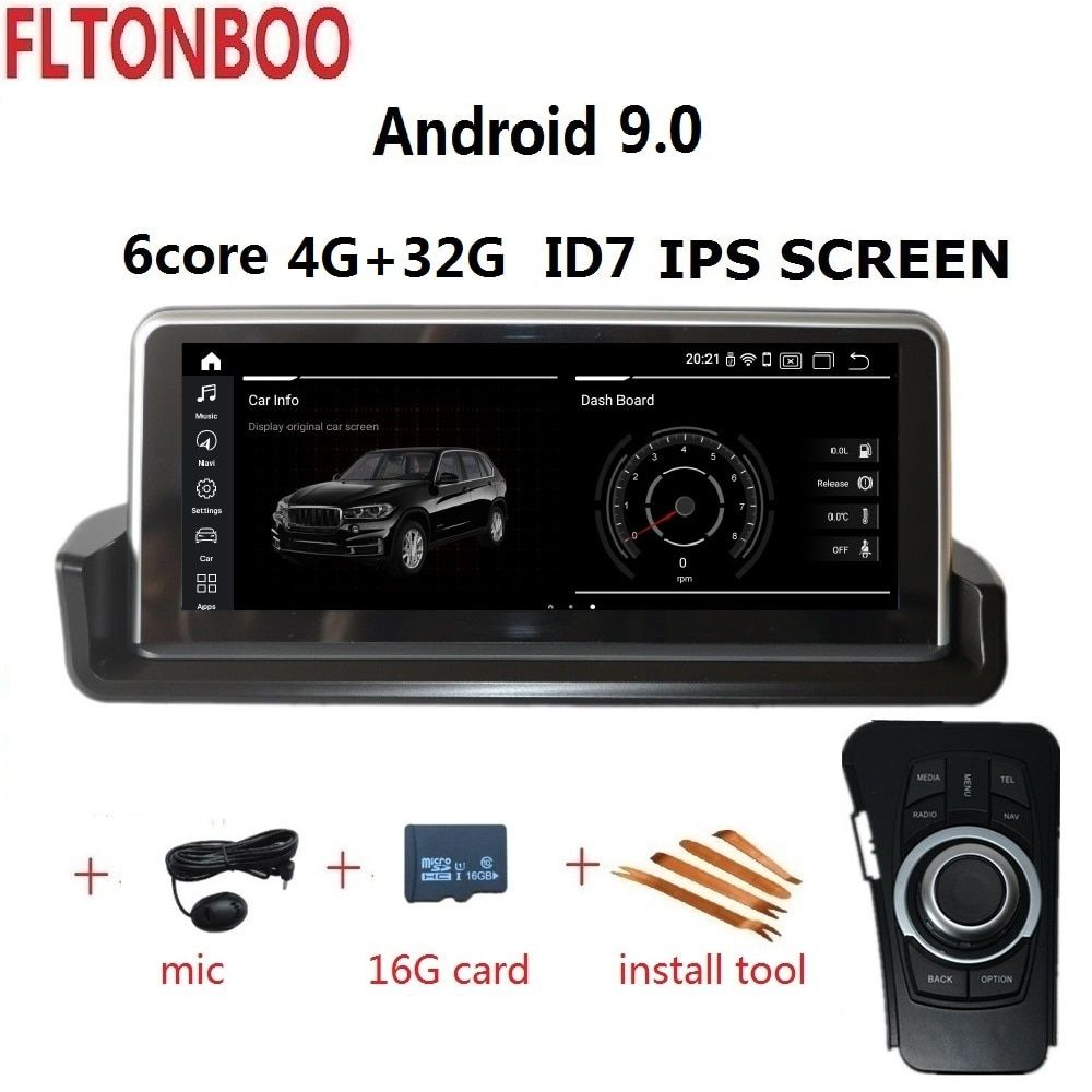 10,25 ''Android 8,1 Auto Gps radio player navigation ID7 für BMW E90 E91 E92 E93 3 serie 6 core wifi bluetooth 2 GB RAM 32 GB ROM
