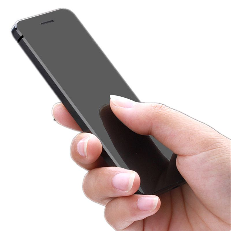 ULCOOL V36 Phone Ultrathin credit card cellphone metal body bluetooth dialer cell phone FM mp3 dual SIM card
