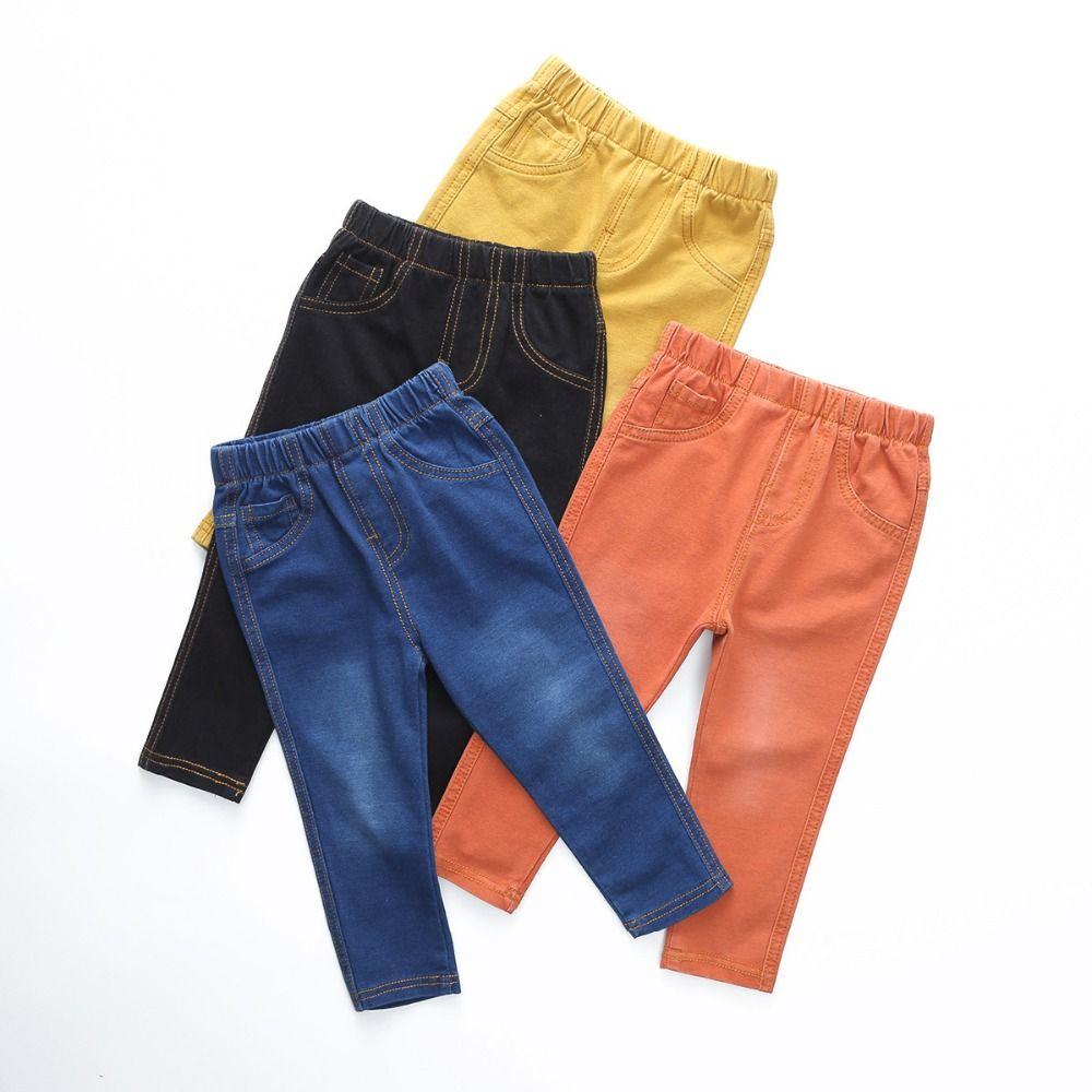 VIDMID 1-6Y enfants Jeans garçons Denim pantalon bébé filles Jeans Top qualité pantalons décontractés enfants vêtements printemps leggings 1017 01
