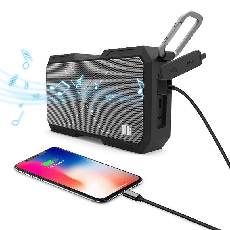 Nillkin Wireless Bluetooth <font><b>Speaker</b></font> Power Bank Waterproof Portable Column Box music Loudspeaker Stereo HiFi for iPhone For Xiaomi