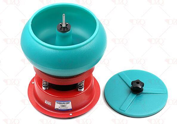 Schmuck werkzeuge kapazität 4 kg Mini Vibrations Tumbler, viberation Polierer Finisher Reiniger, poliermaschine für goldschmied