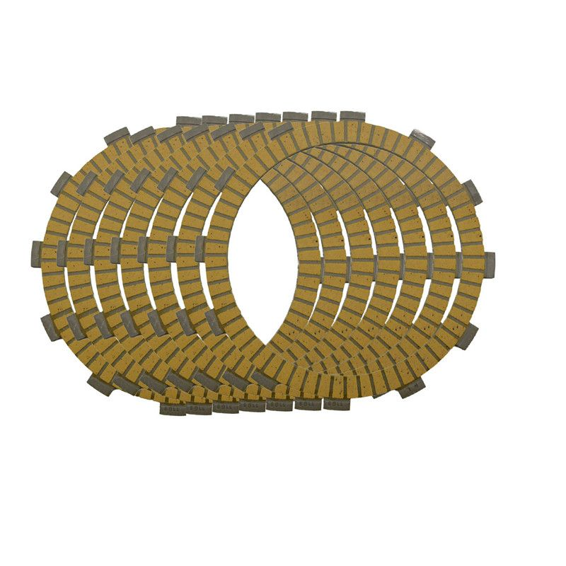 Motorcycle Clutch Friction Plates Set For Kawasaki ZZR400 ZRX400 KLE 400 / 500 Lining #CP-0009 1989-2003