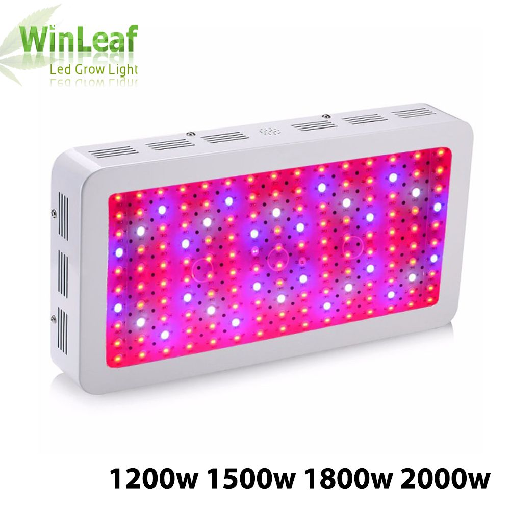 led grow plant lamp Double Chips Full Spectrum 1200W 1500W 1800W 410-730nm uv light for indoor plants LED grow light