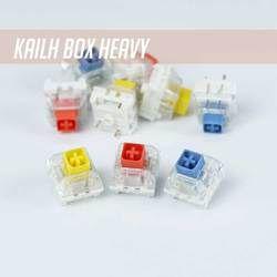 Kailh Heavy Switch RGB SMD Switch Kuning Gelap Burnt Orange Biru Pucat untuk Keyboard Gaming Mekanik IP56 Tahan Air MX