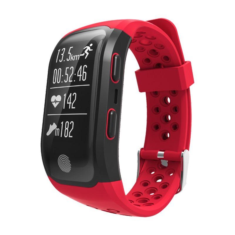 2018 Smart Armband GPS Track Uhr Smart Uhr Schlafen Schrittzähler Armband Fitness Tracker Pulsmesser Sportuhr Sport